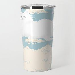 Cat Cloud Travel Mug