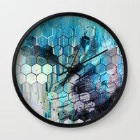 splash Wall Clocks featuring Splash by Esco