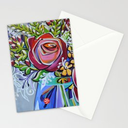 Graphic Floral 1 Stationery Cards