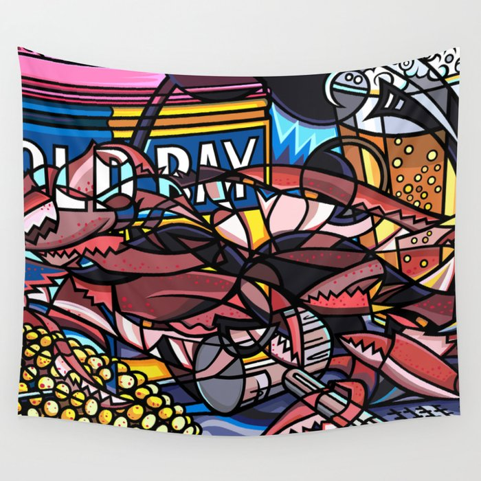 Maryland Traditions Wall Tapestry