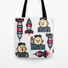Kim Jong Un Rockets Tote Bag