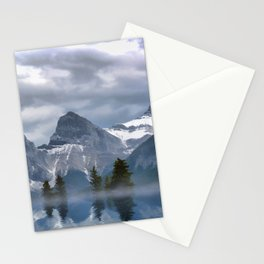 Sisterhood - The Three Sisters, Canmore Alberta, Canada Stationery Cards