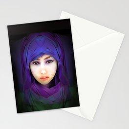 Model Portrait Stationery Cards