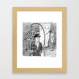 Metal Menagerie Framed Art Print