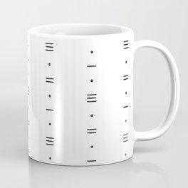 Minimalist Pattern 01 - White Coffee Mug