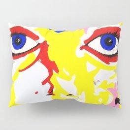 Face Art Painting Pillow Sham