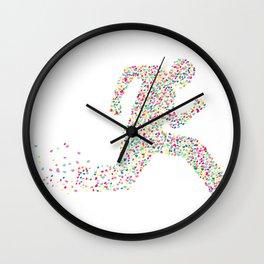 Dash For Love Wall Clock