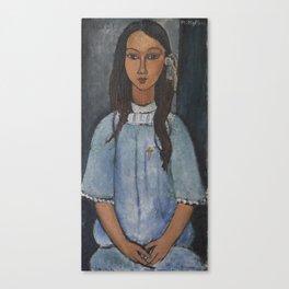 Alice by Amedeo Modigliani Canvas Print