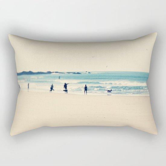 beach sunday I Rectangular Pillow
