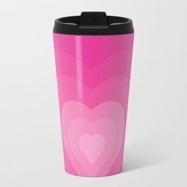 Bubble Gum Heart - Illustration Travel Mug