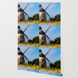 North German windmill from old time Wallpaper