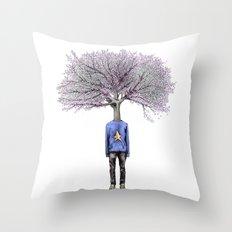 Treenager Throw Pillow
