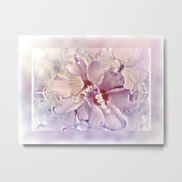 Delicate Floral Metal Print