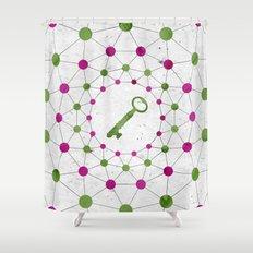 Phantom Keys Series - 02 Shower Curtain