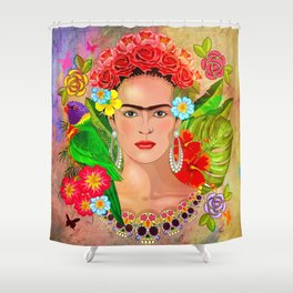 Frida Kahlo 3 Shower Curtain