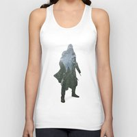 assassins creed Tank Tops featuring Assassins Creed - Woodland 2 by Fatih