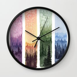 The Seasons Wall Clock