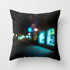 Nocturne Throw Pillow