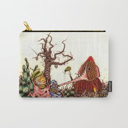 Elephant Grass Carry-All Pouch