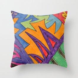 Unwound Constraint Throw Pillow