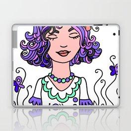 Style Girl - Emma - Doodle Art Laptop & iPad Skin