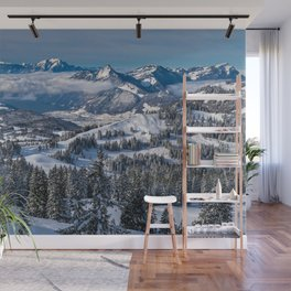 Things To Remember--Swiss Alps Landscape Wall Mural