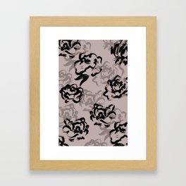 Finger Flora Framed Art Print