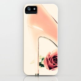 Pink Heel (Retro and Vintage Still Life Photography) iPhone Case