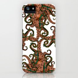MALEVOLENT TENTACLÉE - TENTACLES RISING FROM THE DEPTHS iPhone Case