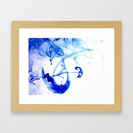 inkwater print 06 Framed Art Print