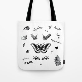 Harry's Tattoos Two Tote Bag