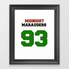 Midnight Marauders Framed Art Print