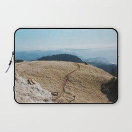 Windswept Day at Mt. Tam Laptop Sleeve