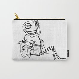 Fly in the facts  Carry-All Pouch