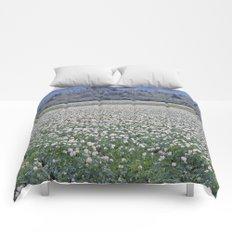 Potato Fields of PEI Comforters