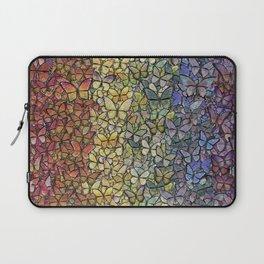 rainbow of butterflies aflutter Laptop Sleeve