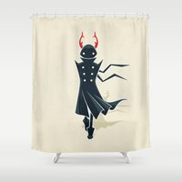 dune Shower Curtains featuring Dune by Freeminds