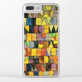 Paul Klee Once Emerged from the Gray of Night Clear iPhone Case