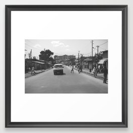 Downtown Addis Framed Art Print