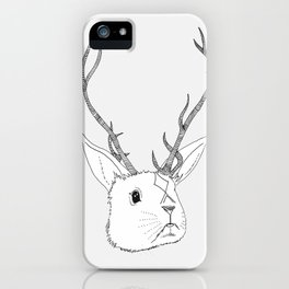 Jackelope iPhone Case