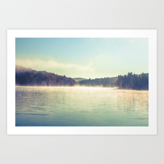 Peaceful Reflections Art Print