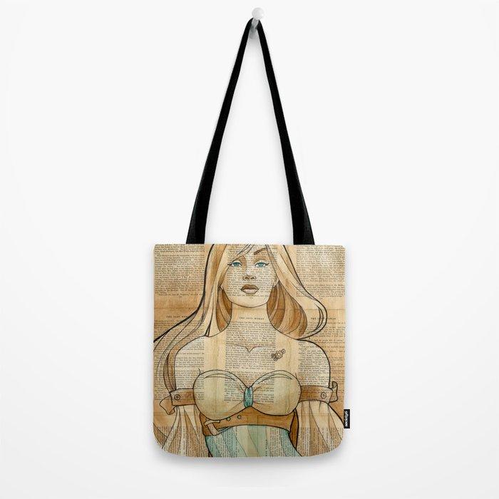 The Iron Woman 8 Tote Bag