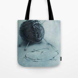 Let's knit a bit Tote Bag