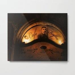 Cafe Kafka Metal Print