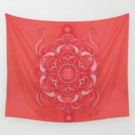 Mandala Swadhisthana Chakra Wall Tapestry
