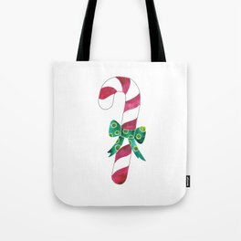 Christmas Season —Candy Canes Tote Bag