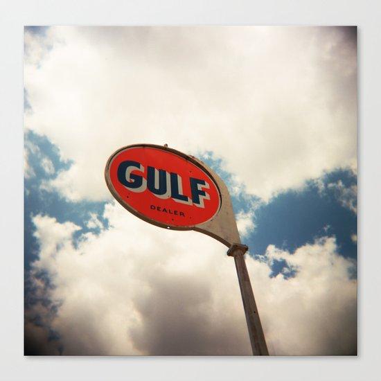 Gulf Canvas Print