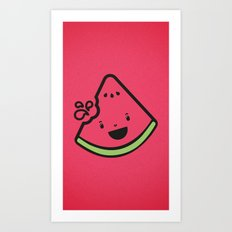 WATERMELON! Art Print