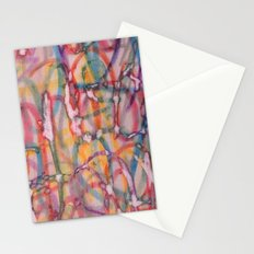 Screen Printed Text Stationery Cards
