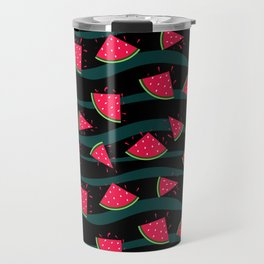 Watermelon slice . Travel Mug
